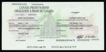 Illustration d'un certificat d'OPC.
